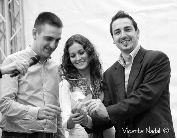 Recogida de premios del día de la persona emprendedora de la Comunidad Valenciana