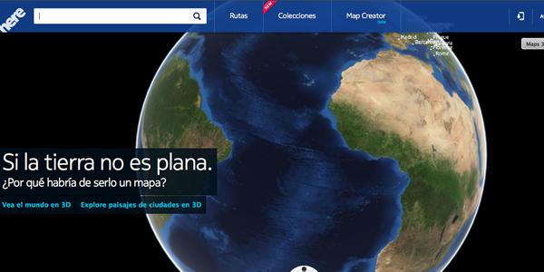 Alternativas a Google: HERE.com los nuevos mapas de Nokia