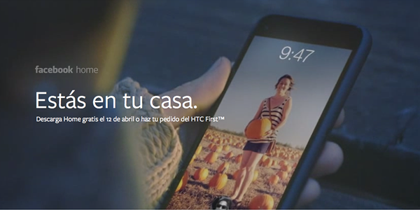 Facebook Home y la estrategia de Facebook en mobile