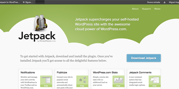 JetPack: El plugin imprescindible para WordPress