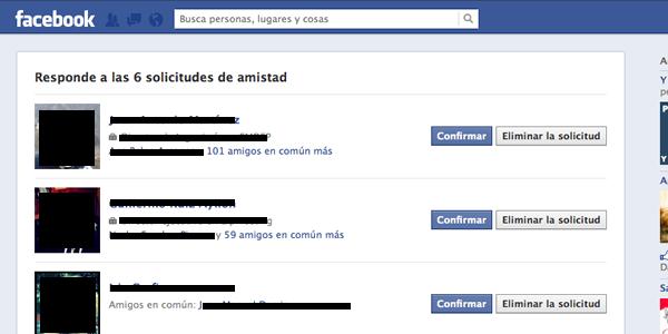 Diferentes modos de gestionar tus contactos y amigos de Facebook