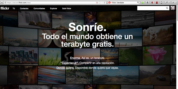 Flickr y el Terabyte GRATIS como estrategia de marketing