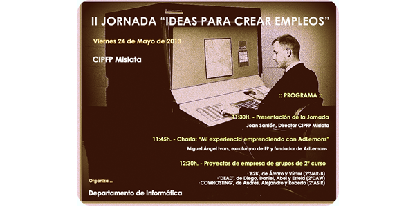 Mañana daré la charla: Mi experiencia emprendedora con AdLemons