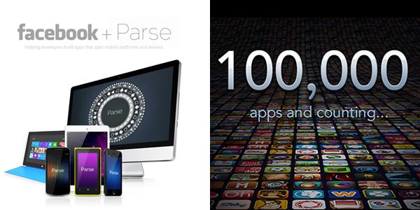 Parse de Facebook llega a las 100.000 aplicaciones