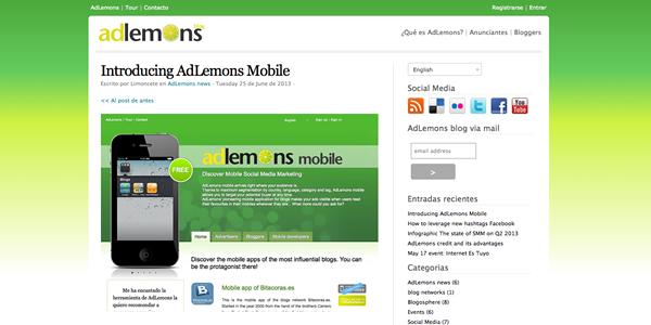 Hoy es el lanzamiento de AdLemons Mobile
