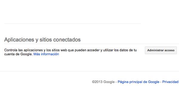 Quitar permisos a una aplicación de terceros con la cuenta de Google