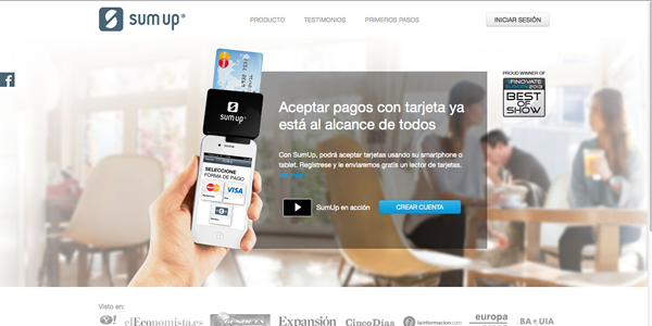 BBVA invierte en SumUp, el Square Europeo