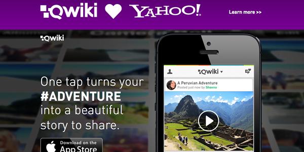 Qwiki la apuesta de Yahoo para hacer frente a Instagram vídeo y Vine