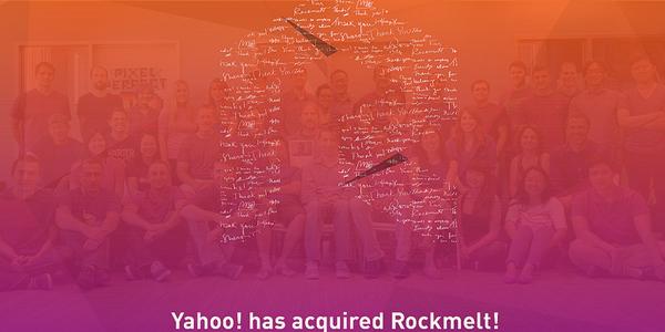 RockMelt en manos de Yahoo!