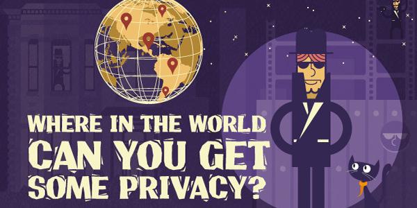 [infografía] Los 5 mejores países en cuanto a privacidad
