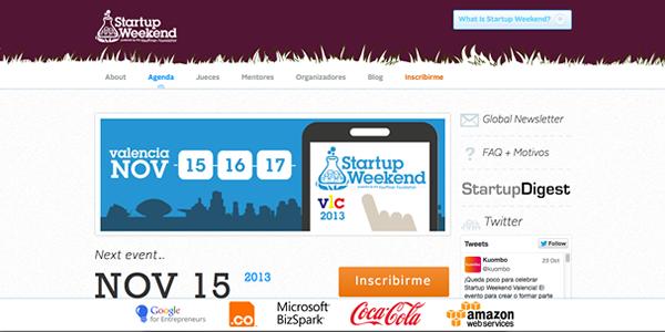 Vuelve el Startup Weekend Valencia