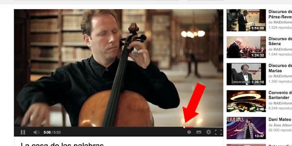 Cómo enlazar con un vídeo de YouTube en un minuto concreto
