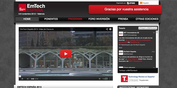 Mini crónica del EmTech España del MIT